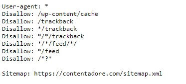 Image of Deny access to some URLs and specify the path to the sitemap