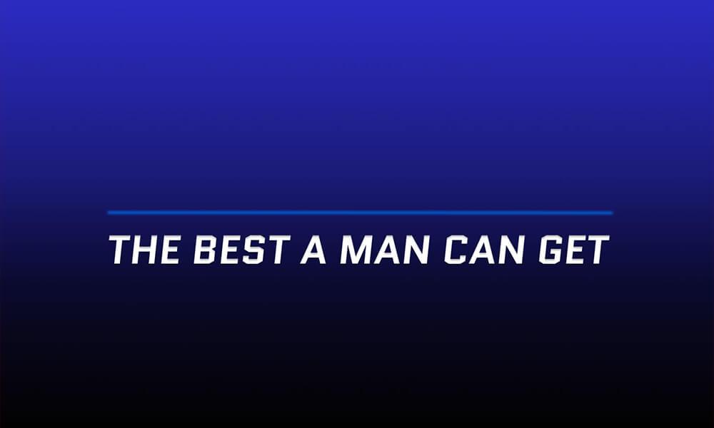 Image of Gillette slogan