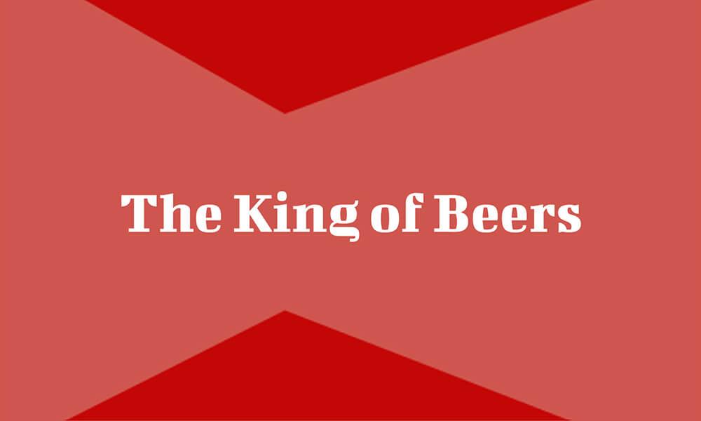 Image of Budweiser slogan