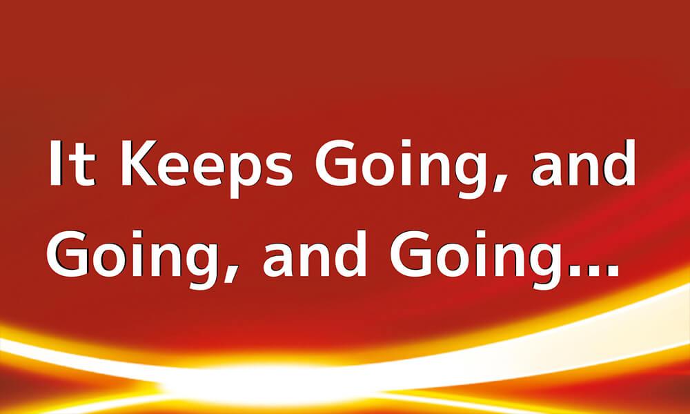 Image of Energizer slogan